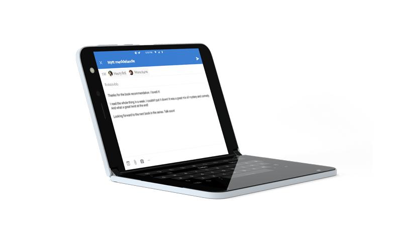 Öppna Outlook med hel skärms tangent bordet
