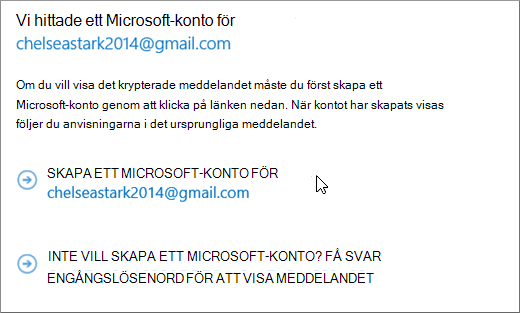 Skapa ett Microsoft-konto