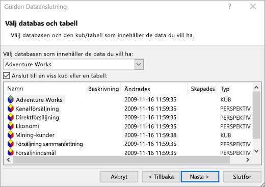 Data guiden Dataanslutning skärm 2
