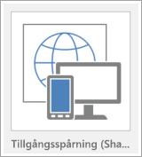 Mallknapp för Access-webbapp