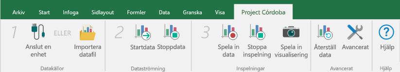 Ansluta en datakälla