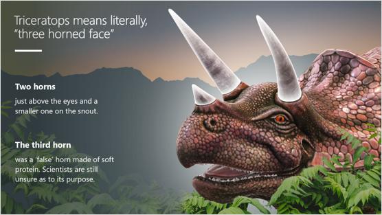 Bild av en mall för 3D-presentationer