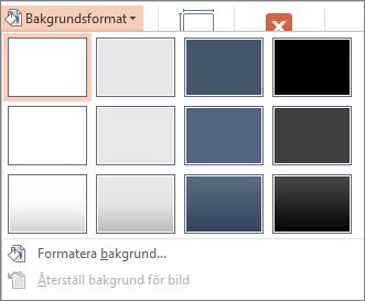 PowerPoint-bakgrundsformat