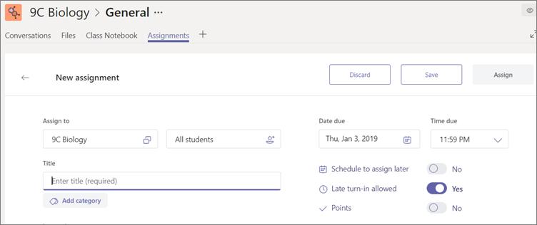 Klicka på Spara om du vill spara ett utkast av en uppgift.