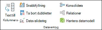 Dataverifiering