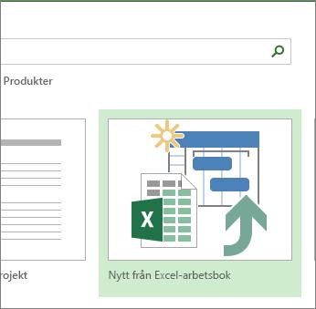 Excel-arbetsboksmall