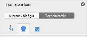 Fönstret form format med effekter