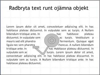 Bild med bildobjekt som inte längre är täckt av text