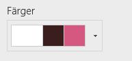 Ändra färger på en webbplats
