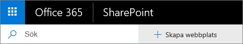 SharePoint Office 365 – Sökning