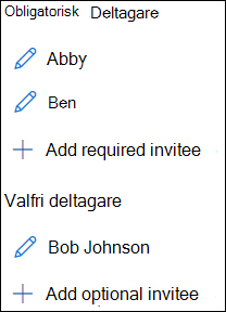 Inbjudna lista