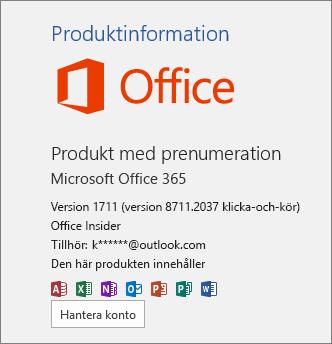 Office Insider-version