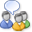 Ikon för en nyhetsgrupp i Business Contact Manager