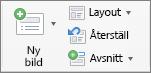 Ny bild i PowerPoint för Mac