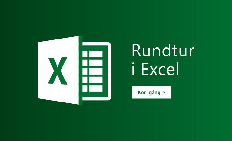 Se en introduktion i Excel