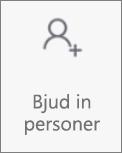 Knappen Bjud in personer i OneDrive för Android