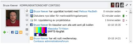 Fönstret Personer i Outlook Social Connector.