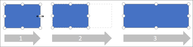 Ändra storlek på en sida på en form