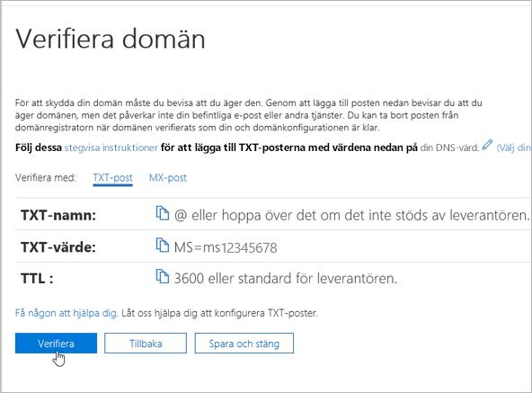 Freenom verifiera din domän i Office 365_C3_2017617122635