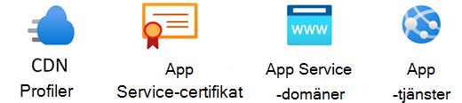 Stencil för Azure App-tjänster.