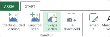 Skapa video