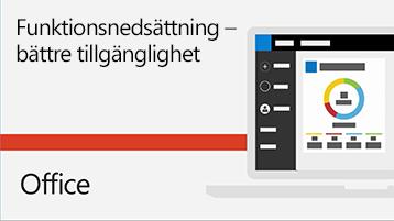 Förbättra tillgängligheten för e-post – video.