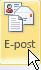 Knappen E-post utan alternativ