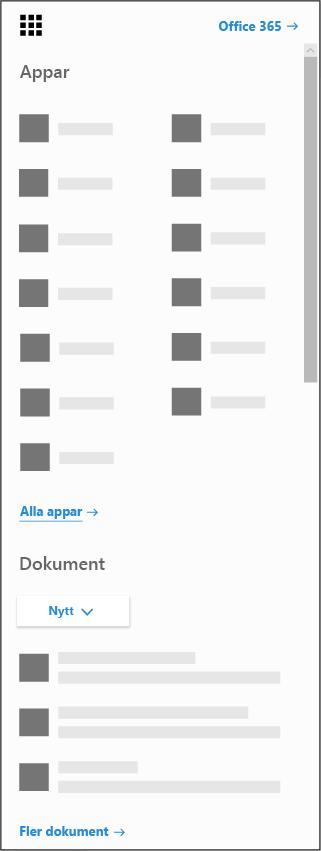Startikon för Office 365
