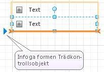 Infoga-pil för en listform