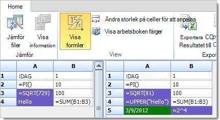 Formler visas