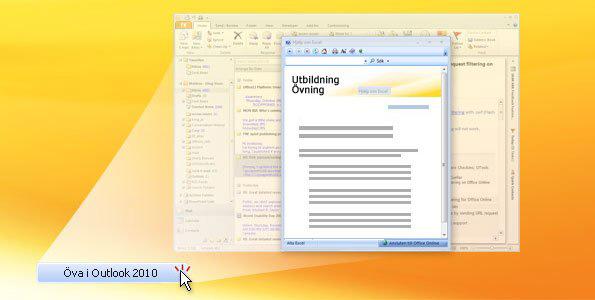 Övning för Outlook 2010