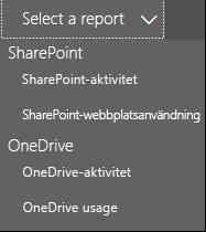 Välj en rapport