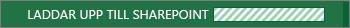 En bild av det statusmeddelande som visas när en fil sparas på gruppwebbplatsen.