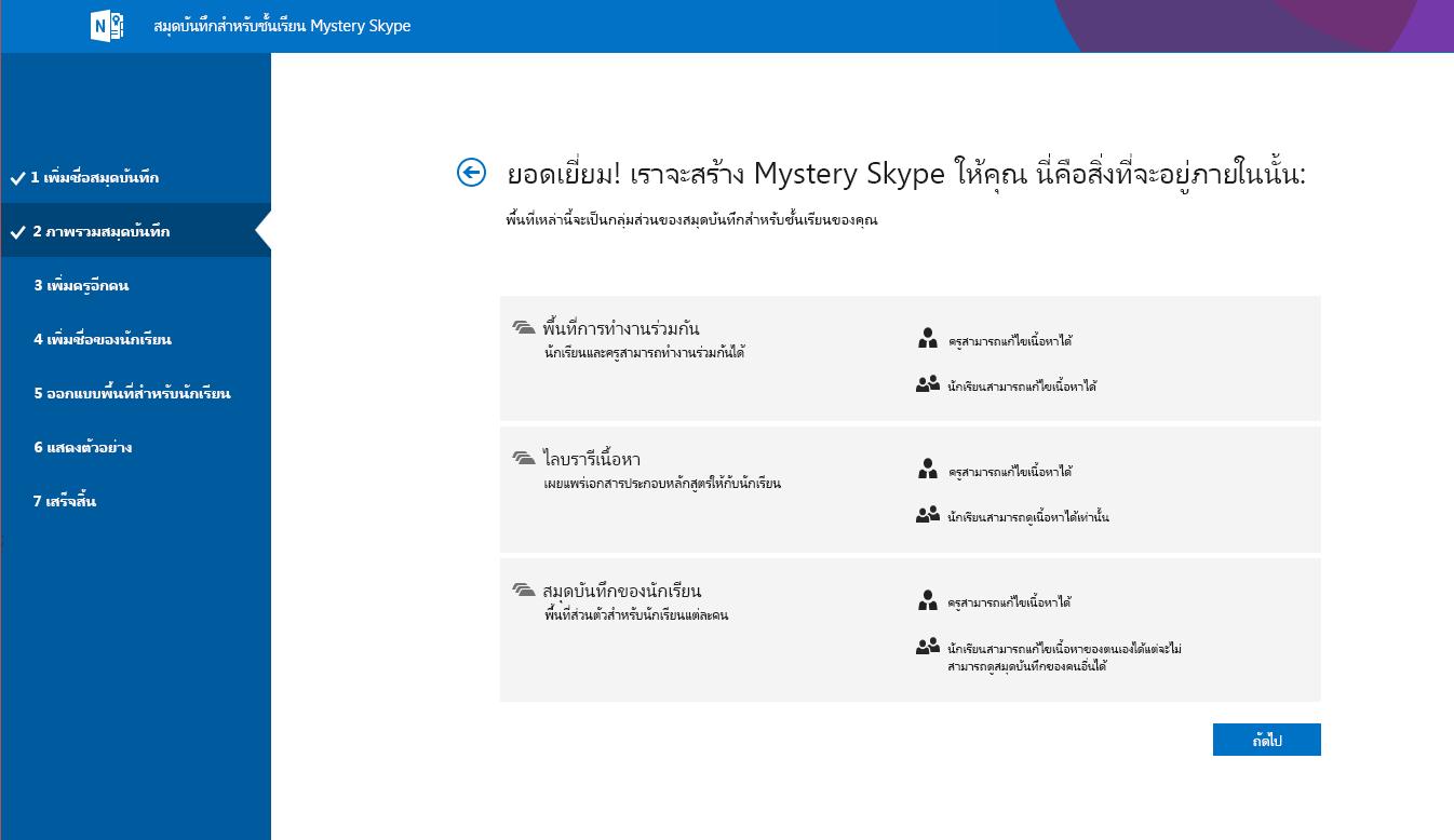 ภาพรวม Mystery Skype