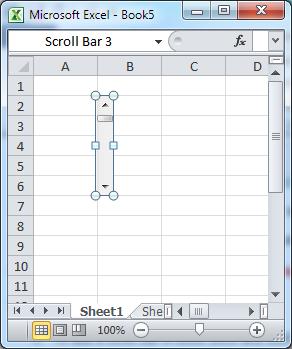 เพล scoll bar