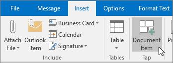อีเมลใหม่ใน Outlook