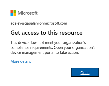 ข้อความแสดงข้อผิดพลาดจะแสดงขึ้นเมื่อลงชื่อเข้าใช้เบราว์เซอร์ Microsoft Edge