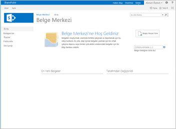 belge merkezi sitesi şablonu
