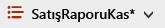 Yıldız işareti ile SharePoint Online Görünümü Seçenekleri düğmesi