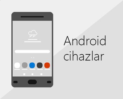 Android cihazlarda Office'i ve e-postayı ayarlamak için tıklayın