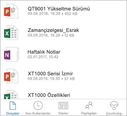 OneDrive mobil