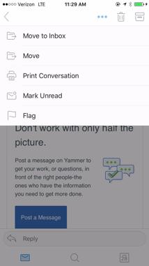 Gereksiz e-posta klasöründen e-posta kaldırma