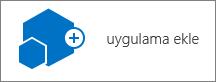 Site içeriği iletişim kutusunda bir uygulama simgesini ekleme.
