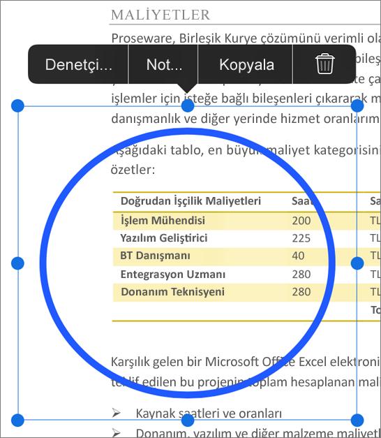 PDF işaretlemesini düzenle