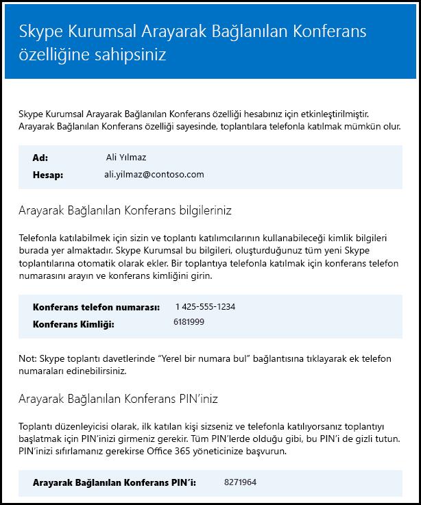 Skype Kurumsal Doğrulama Lisansı