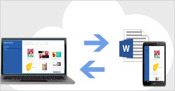 Dosyaları bulutta kaydetme ve paylaşma