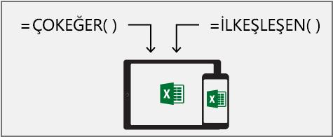 Formülleri kısaltmanıza yardımcı olacak yeni mantıksal işlevler