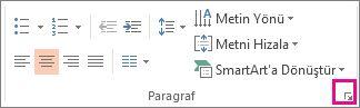 PowerPoint Şerit Görüntüsü