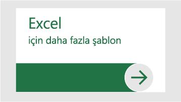 Excel için daha fazla şablon