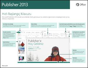 Publisher 2013 Hızlı Başlangıç Kılavuzu